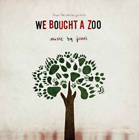 『サウンド・トラック「We Bought A Zoo / 幸せへのキセキ」』海外盤ジャケット