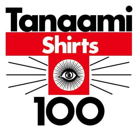 『Tanaami Tee x 100』ロゴ