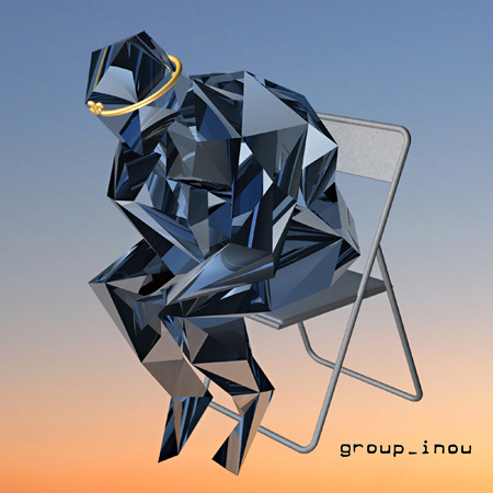 group_inou『MONKEY / JUDGE』ジャケット