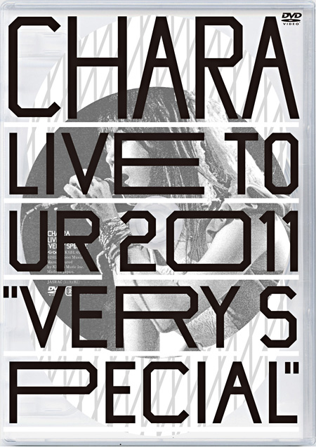 "Chara『Live Tour 2011 ""Very Special""』ジャケット"