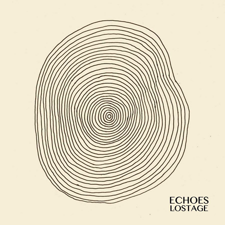 LOSTAGE『ECHOES』ジャケット