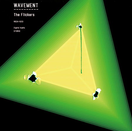 The Flickers『WAVEMENT』ジャケット