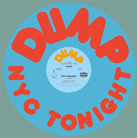 DUMP『NYC TONIGHT』ジャケット