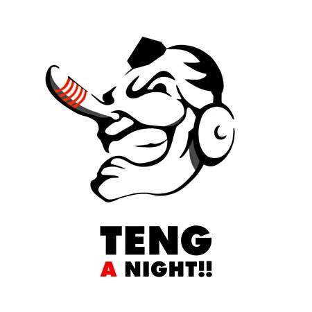 『天狗 A NIGHT!!』ロゴ