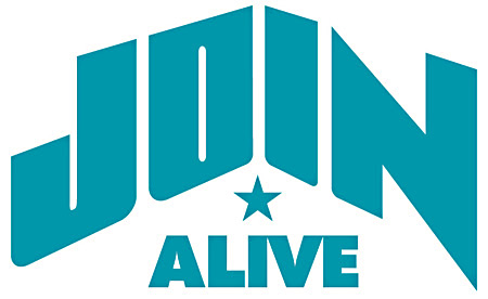 『JOIN ALIVE』ロゴ