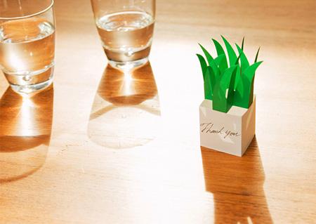 池澤樹 ガーデニング会社のグラフィックツール「Greening MEMO」(cl:ノハラ)