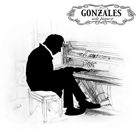 チリー・ゴンザレス『Solo Piano II』ジャケット