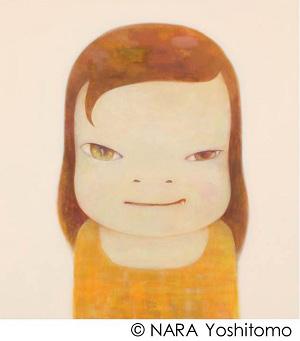 ≪夜まで待てない≫ 2012 アクリル・カンヴァス 197.0×182.5cm ©NARA Yoshitomo 撮影:木奥惠三