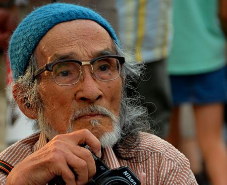 『ニッポンの嘘 報道写真家 福島菊次郎90歳』 ©2012『ニッポンの嘘 報道写真家 福島菊次郎90歳』製作委員会