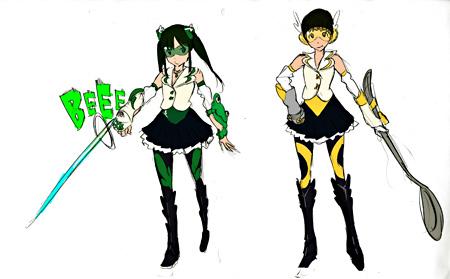 ももいろクローバーZ『Z女戦争』衣装原案