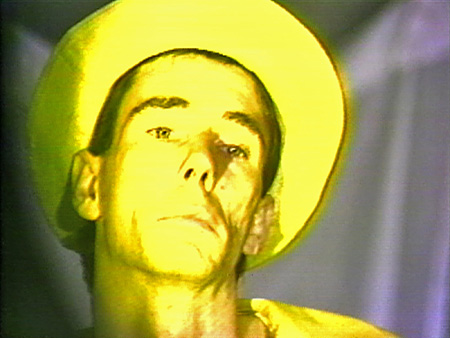 "Mike Kelley. ""The Banana Man,"" 1983. Courtesy Electronic Arts Intermix (EAI), New York."