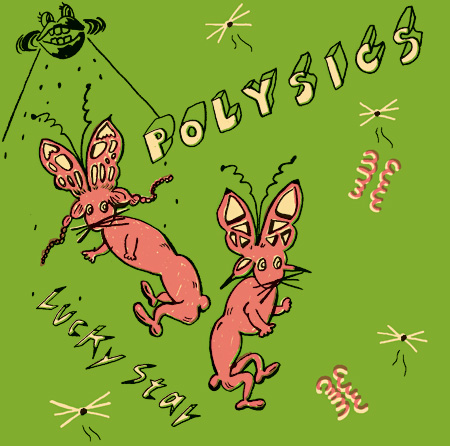 POLYSICS『Lucky Star』初回限定盤ジャケット