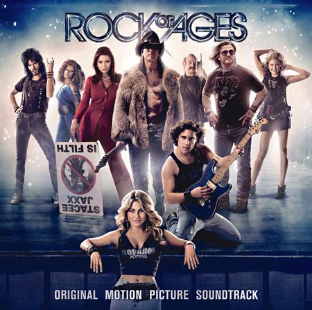 『「ロック・オブ・エイジズ」オリジナル・サウンドトラック』ジャケット