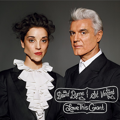 David Byrne&St.Vincent『Love This Giant』ジャケット