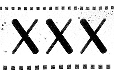 『XXX』ロゴ