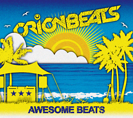 ORIONBEATS『AWESOME BEATS』ジャケット