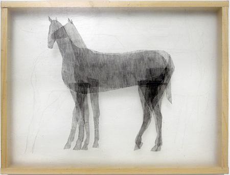 和田真由子 ≪馬≫ 2011年 ©Mayuko Wada Courtesy of Kodama Gallery