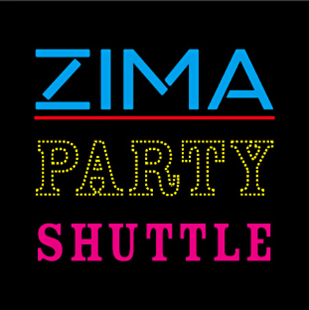 『ZIMA PARTY SHUTTLE』メインビジュアル