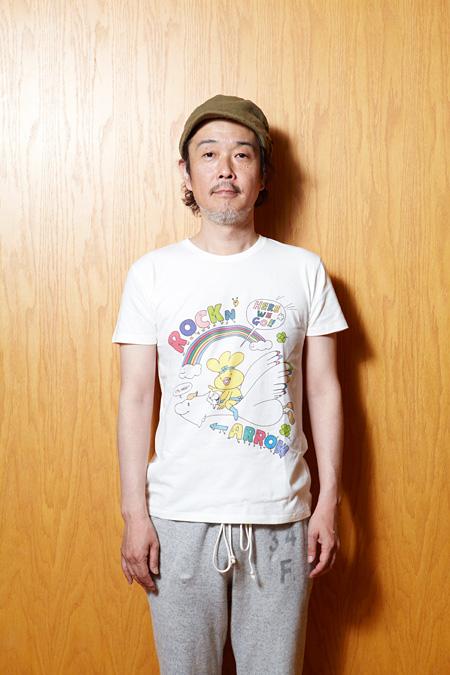 リリー・フランキーデザインTシャツ