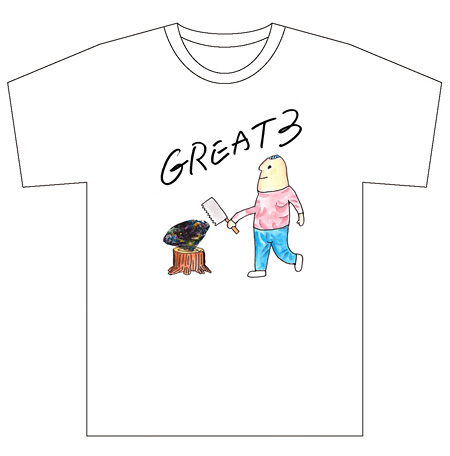 GREAT3 Akito Tシャツ