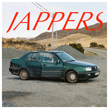 JAPPERS『Lately EP』ジャケット