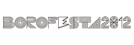 『BOROFESTA2012』ロゴ