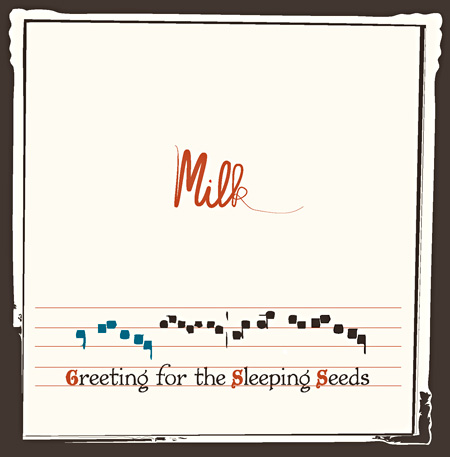 milk『greeting for the sleeping seeds』ジャケット