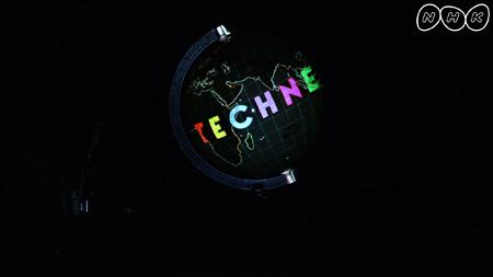 『テクネ 映像の教室』 テーマ「プロジェクション」のID映像