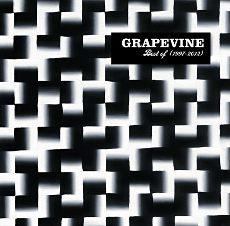 GRAPEVINE『Best of GRAPEVINE 1997-2012』通常盤ジャケット
