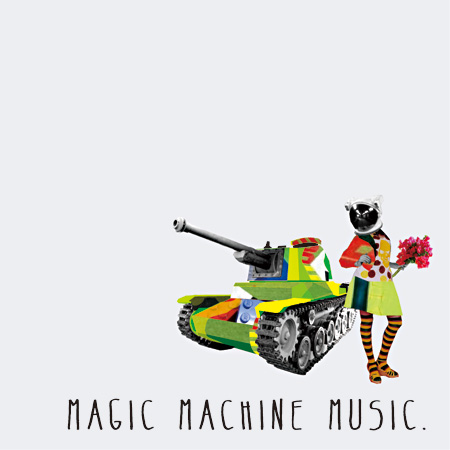 FLUID『Magic Machine Music』ジャケット