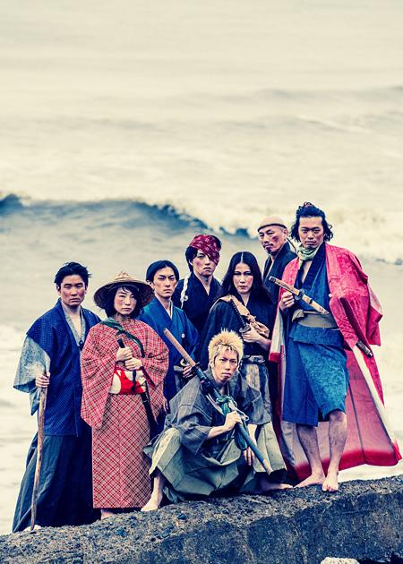 『田舎の侍』イメージビジュアル 写真:江森康之