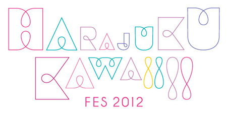 『HARAJUKU KAWAii!! FES 2012』ロゴ