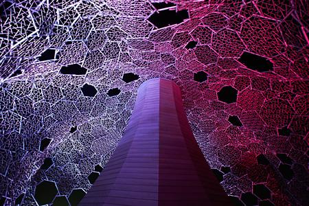 伏見雅之『Lightscape in Rokko 〜六甲ミーツ・アート2012〜』 撮影:高嶋清俊
