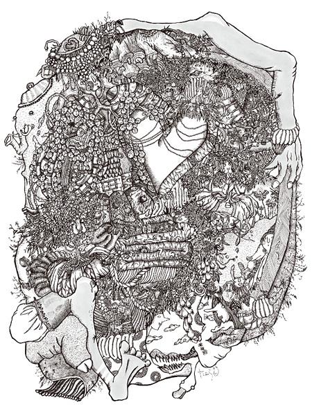 たむらぱんによるイラスト作品