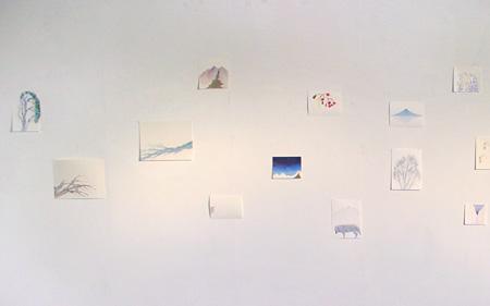佐々木愛個展『光』会場風景(ギャラリートラックス) 2011年