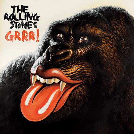 The Rolling Stones『GRRR! 〜ザ・ローリング・ストーンズ・グレイテスト・ヒッツ』ジャケット