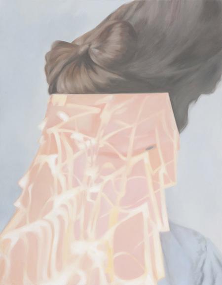 平井晴香『layering 2』 2010年 キャンバスに油彩 116.7×91cm