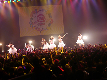 10月13日に開催された東京・SHIBUYA-AX『@JAM the Field アイドルコレクションvo.2』より