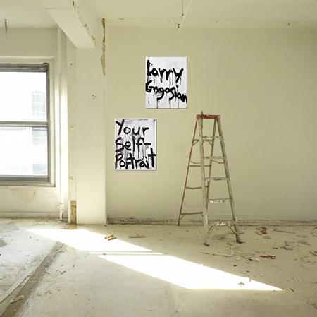 KIM GORDON『Larry Gagosian』屋内設置イメージ