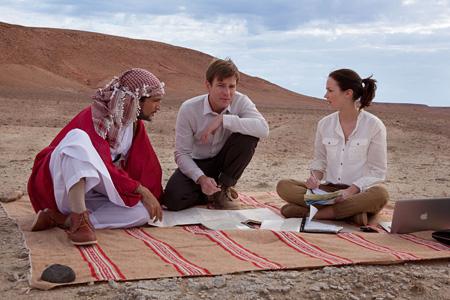 『砂漠でサーモン・フィッシング』©2011 Yemen Distributions LTD., BBC and The British Film Institute. AllRights Reserved.