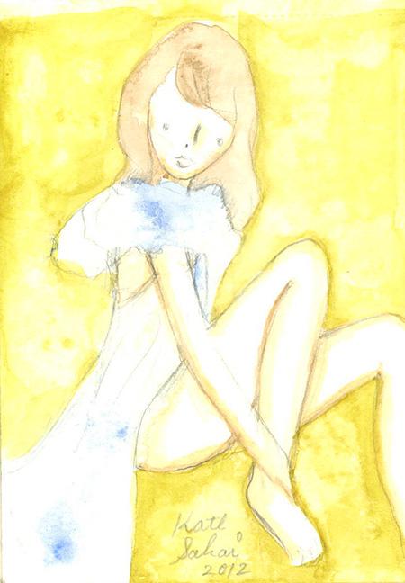 """『""""neoteny girl""""ガーリーを通過した僕らの淡く切ない静寂』展示作品"""