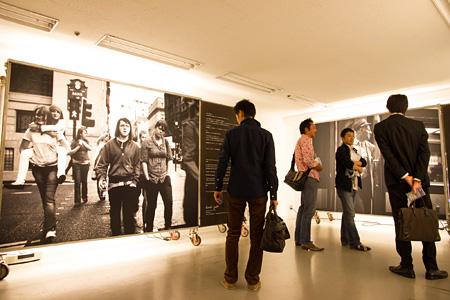『神田コミュニティアートセンタープロジェクト「TRANS ARTS TOKYO 」』会場風景