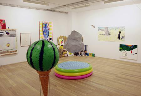 installation view hajimeten『ハジメテンの真夏の教室』 CAPSULE/2012