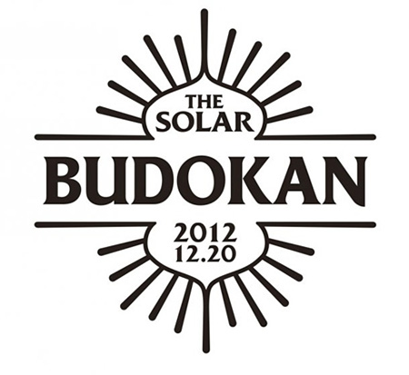 『THE SOLAR BUDOKAN』ロゴ