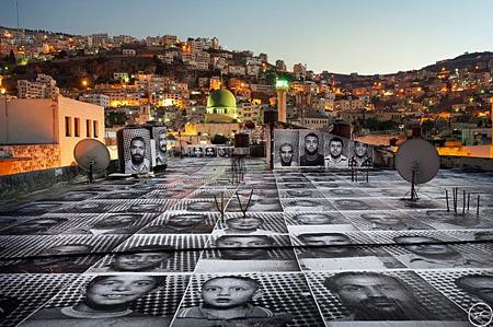 『インサイドアウト』パレスチナ & イスラエル ― ナブルス、『インサイドアウト』のため