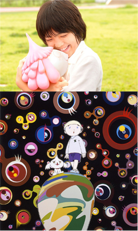 『めめめのくらげ』 ©Takashi Murakami/Kaikai Kiki Co., Ltd. All Rights Reserved.