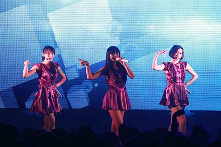 2012年10月26日に開催されたPerfume台湾公演の模様
