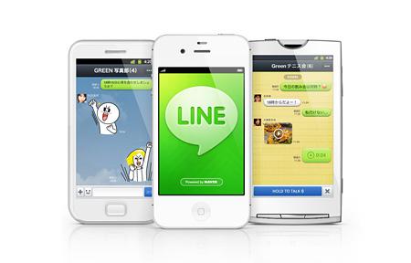 NHN Japan 株式会社『LINE』