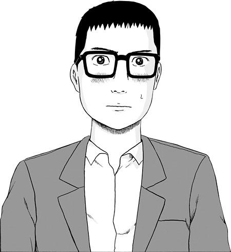 主人公の鴨川嘉郎 ©若林公徳/講談社
