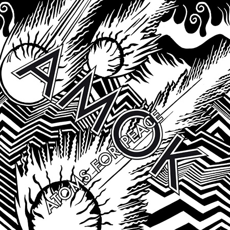 Atoms For Peace『Amok』ジャケット